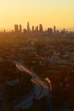 mattina Los Angeles immagini stock libere da diritti