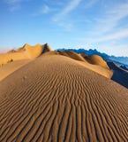 Mattina magnifica in Death Valley immagine stock libera da diritti