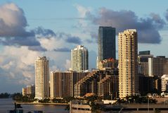 Mattina a Miami Immagini Stock