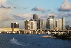 Mattina a Miami Immagini Stock Libere da Diritti
