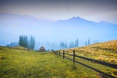 Mattina in montagne Fotografia Stock