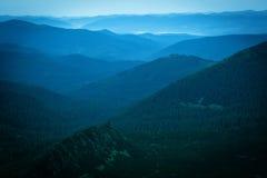 Mattina nelle montagne Immagini Stock Libere da Diritti