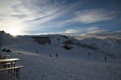Mattina nelle montagne dell'Austria Immagine Stock Libera da Diritti