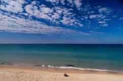 Mattina pacifica al mare Israele Immagine Stock Libera da Diritti