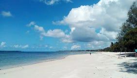 Mattina sulla spiaggia Fotografia Stock