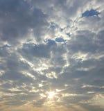 Mattina Sun Fotografie Stock Libere da Diritti