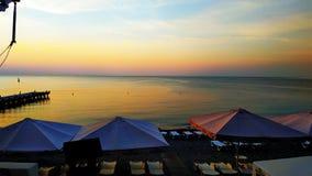 Mattina in Sun di Jalta Crimea immagini stock
