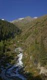 Mattina in valle di Adegine immagine stock