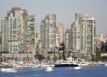 Mattina a Vancouver Fotografia Stock