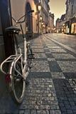 Mattina in vecchia città di Praga Fotografia Stock