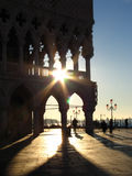 Mattina a Venezia fotografia stock