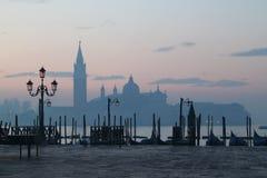 Mattina a Venezia Fotografia Stock Libera da Diritti