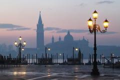 Mattina a Venezia Immagine Stock Libera da Diritti