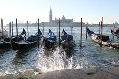 Mattina a Venezia Immagine Stock