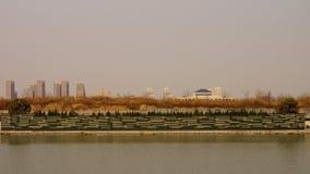 Mattina vicino al ‰ ˆsping del ¼ del ï di area vivente del ¼ cinese del parkï Fotografia Stock