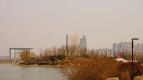 Mattina vicino al ‰ ˆsping del ¼ del ï di area vivente del ¼ cinese del parkï Immagini Stock Libere da Diritti