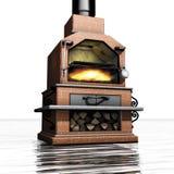Mattone del barbecue Fotografia Stock Libera da Diritti