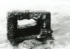 Mattone del mare Fotografia Stock