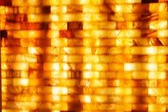 Mattone del sale in stazione termale fotografia stock