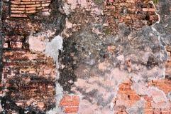 Mattone dell'argilla del particolare di struttura Fotografie Stock Libere da Diritti