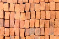 Mattone dell'argilla rossa Immagine Stock Libera da Diritti