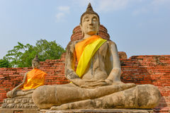 Mattone di Buddha Fotografia Stock Libera da Diritti