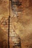 Mattone dorato Immagini Stock Libere da Diritti