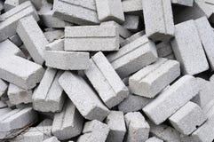 Mattone grigio inutilizzato Immagini Stock