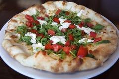 Mattone Oven Goat Cheese Pizza Immagini Stock