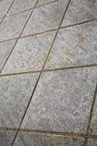 mattone in pavimentazione dell'estratto di sempione del casorate di una chiesa e di una m. Fotografia Stock