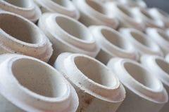 Mattone refrattario Fotografia Stock