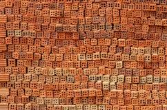 Mattone rosso Fotografia Stock Libera da Diritti