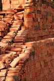 Mattone rosso Fotografia Stock