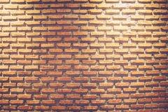Mattone rosso Fotografie Stock