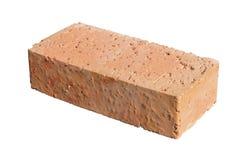 Mattone rosso con i grani del granito Fotografie Stock