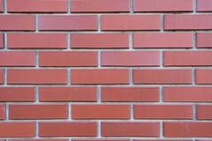 Mattone rosso del muro di mattoni Fotografia Stock