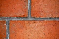 Mattone rosso della stufa Fotografia Stock