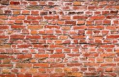 Muro di mattoni rosso Immagini Stock