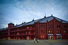 Mattone rosso, Yokohama, Giappone Fotografia Stock
