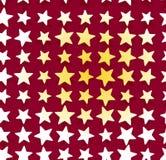 Mattonelle 1 della stella Immagine Stock