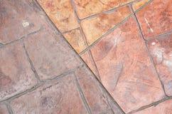 Mattonelle arancio Immagine Stock Libera da Diritti