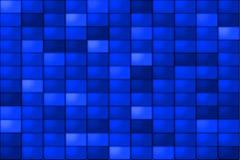 Mattonelle blu Fotografia Stock