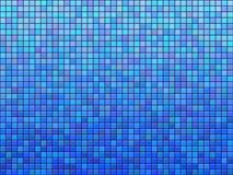 Mattonelle blu Fotografie Stock