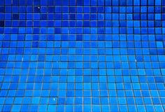 Mattonelle blu Immagini Stock