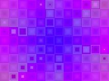 Mattonelle blu viola astratte illustrazione di stock