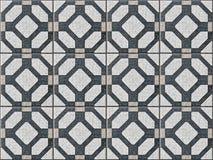 Mattonelle ceramiche con le forme senza cuciture e geometriche illustrazione vettoriale