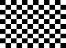 Mattonelle checkered astratte Immagini Stock