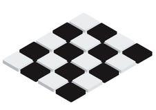 Mattonelle Checkered - vettore illustrazione di stock