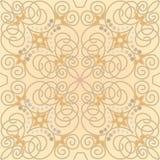 Mattonelle con il motivo floreale illustrazione vettoriale