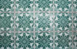 Mattonelle decorative portoghesi decorate tradizionali immagine stock libera da diritti